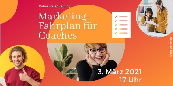 Marketingfahrplan für Coaches