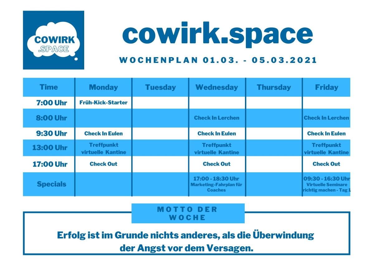 Cowirkspace KW 9