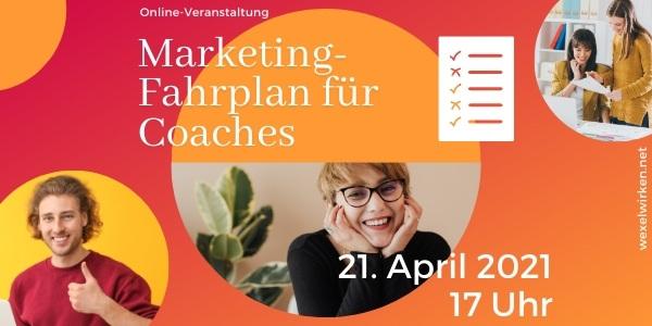 Marketing Fahrplan für Coaches
