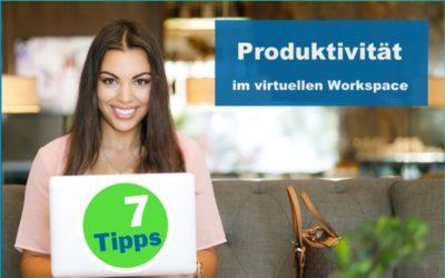 Infografik 7 Tipps zu Produktivität
