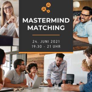 Mastermind Matching Jun 2021