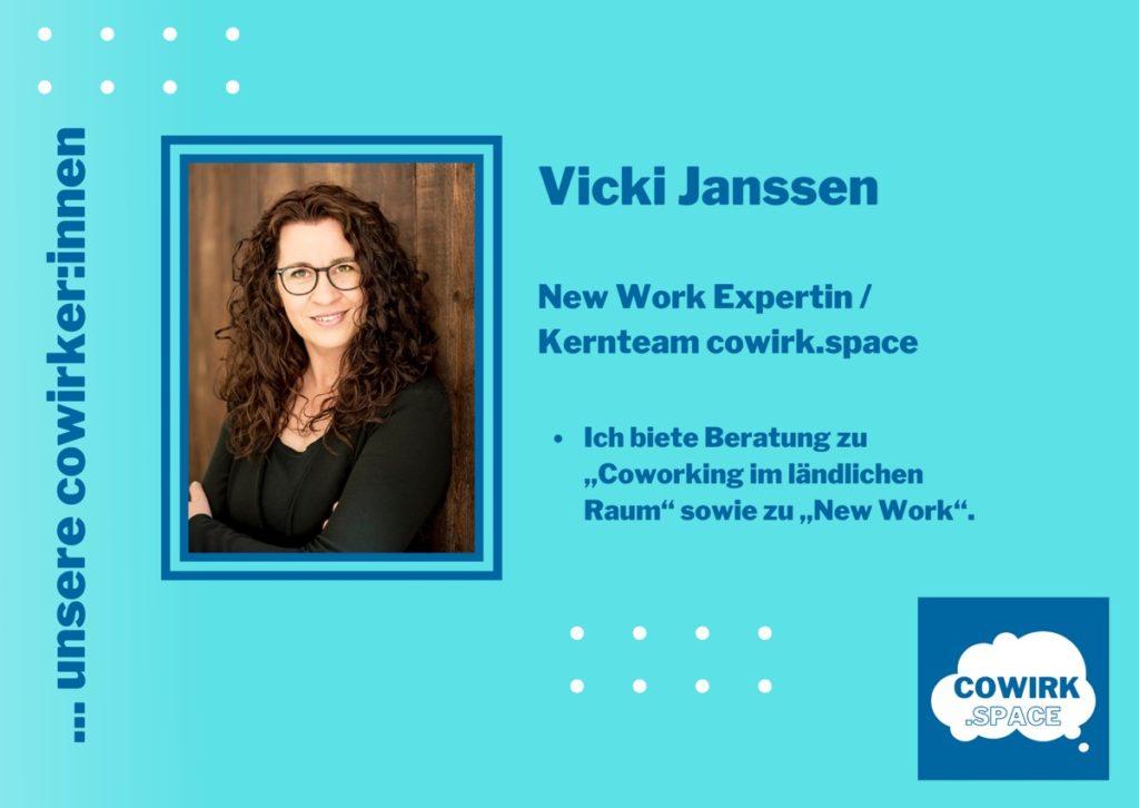 Cowirkerin Vicki Janssen New Work Expertin