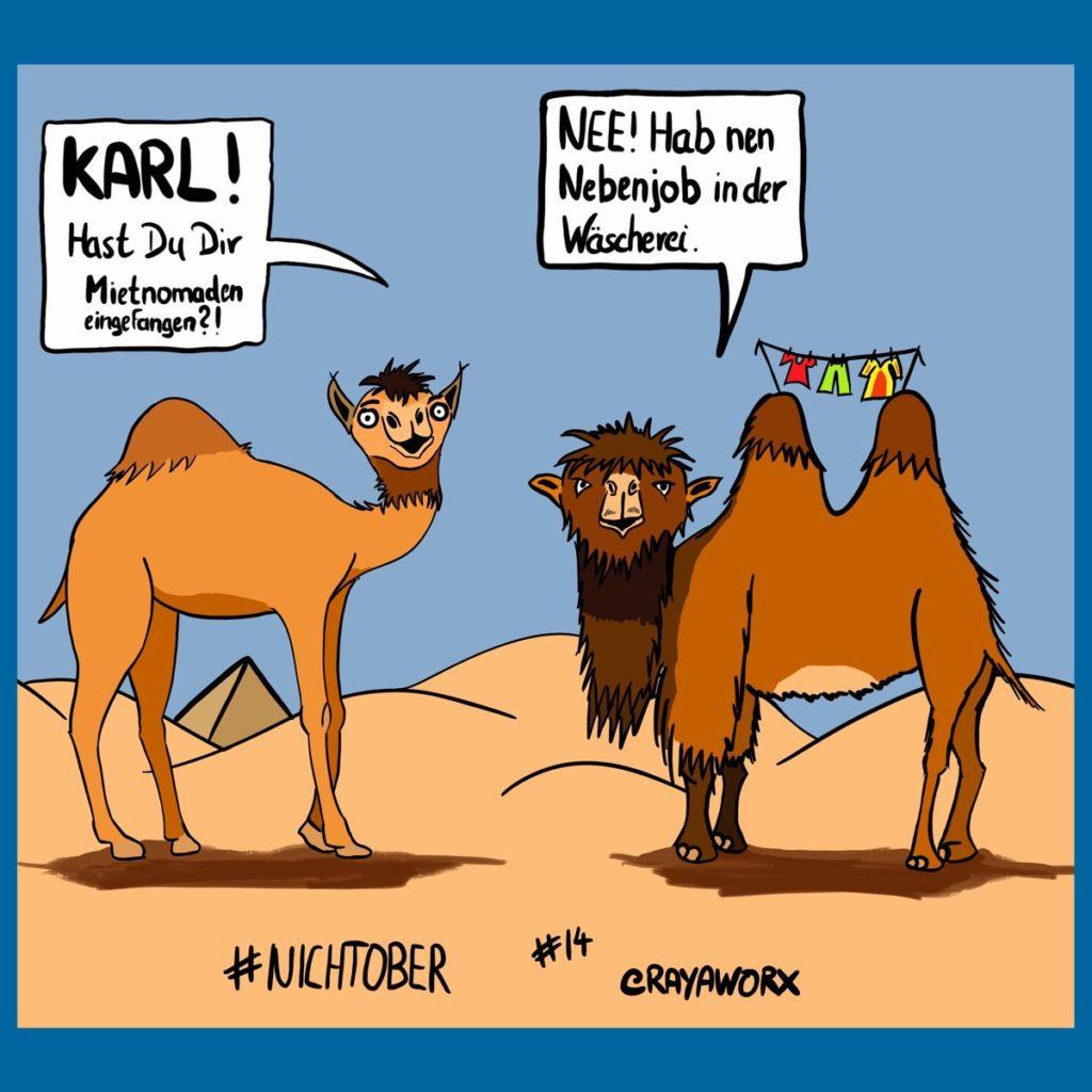 Kamel #nichtober